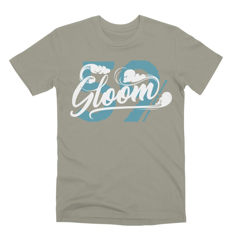 Skater Series: Gloom Men's Premium T-Shirt by Chicago Bruise Brothers Roller Derby