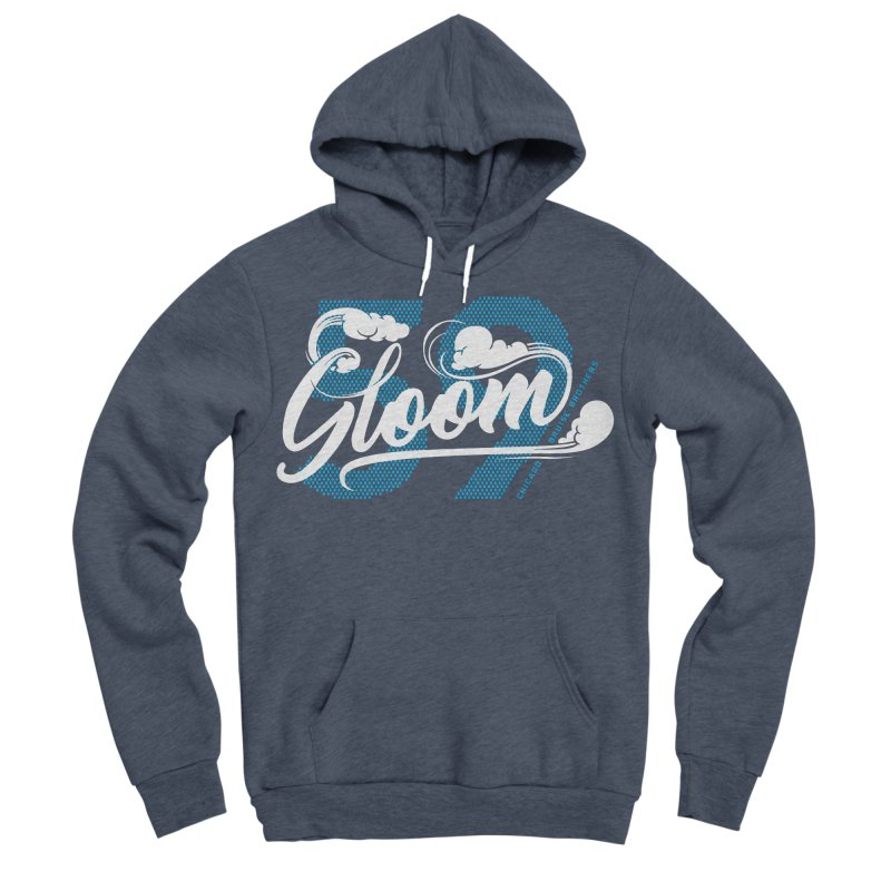 Skater Series: Gloom Women's Sponge Fleece Pullover Hoody by Chicago Bruise Brothers Roller Derby