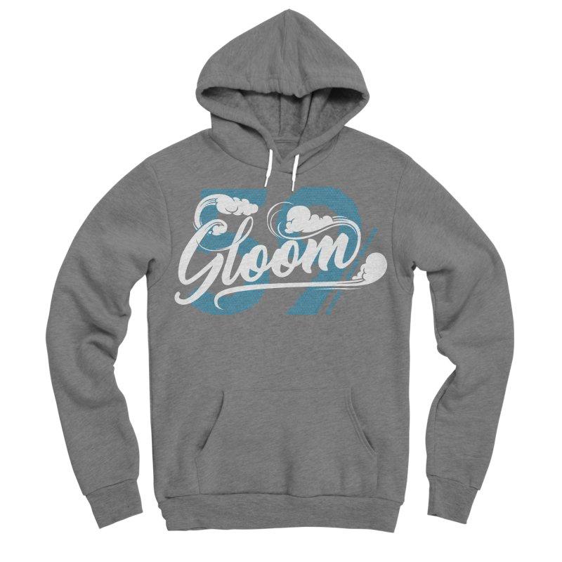 Skater Series: Gloom Men's Sponge Fleece Pullover Hoody by Chicago Bruise Brothers Roller Derby