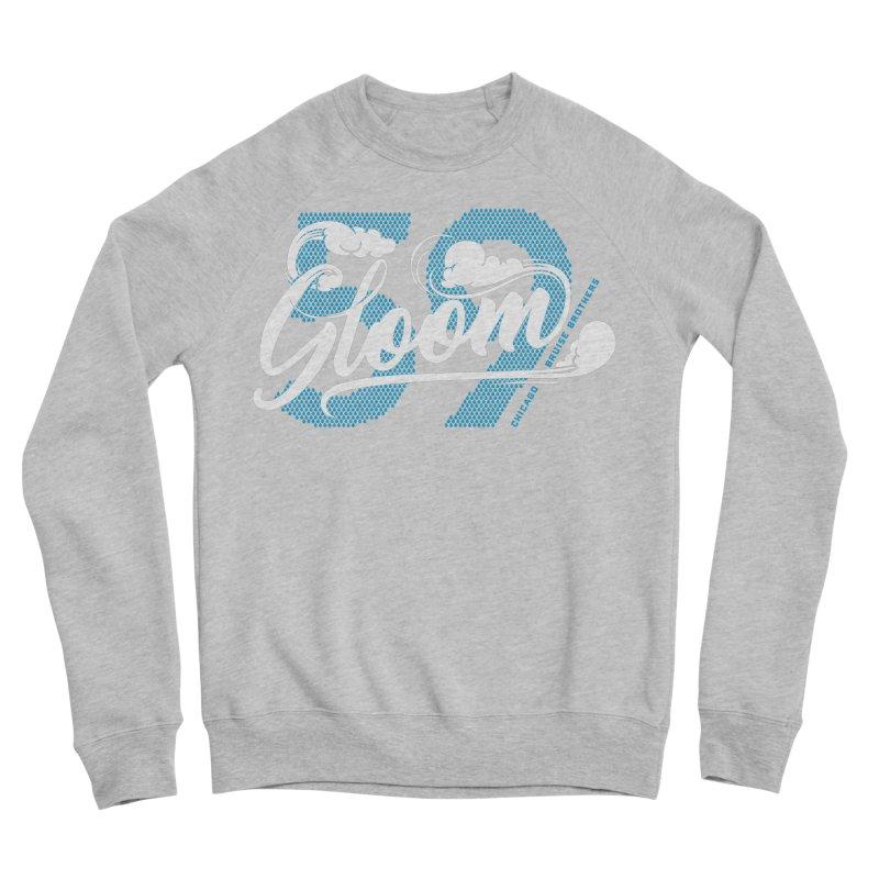 Skater Series: Gloom Men's Sponge Fleece Sweatshirt by Chicago Bruise Brothers Roller Derby
