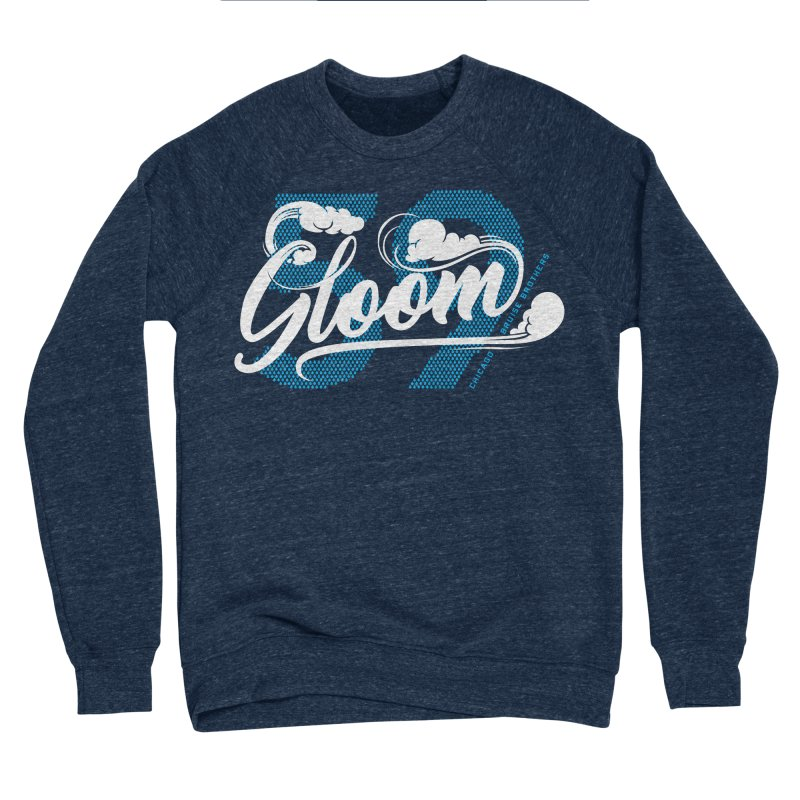 Skater Series: Gloom Women's Sponge Fleece Sweatshirt by Chicago Bruise Brothers Roller Derby