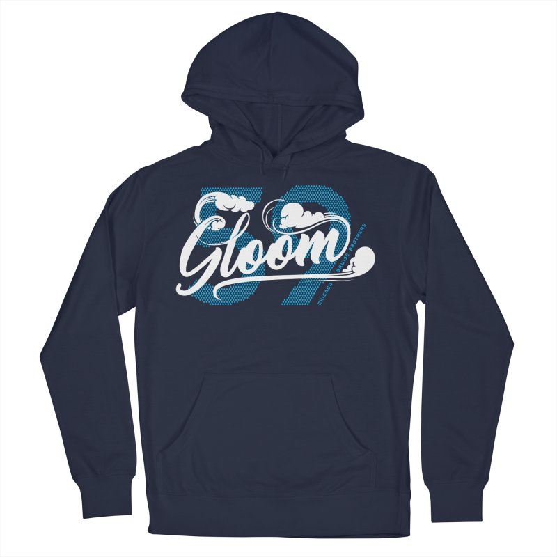 Skater Series: Gloom Men's French Terry Pullover Hoody by Chicago Bruise Brothers Roller Derby