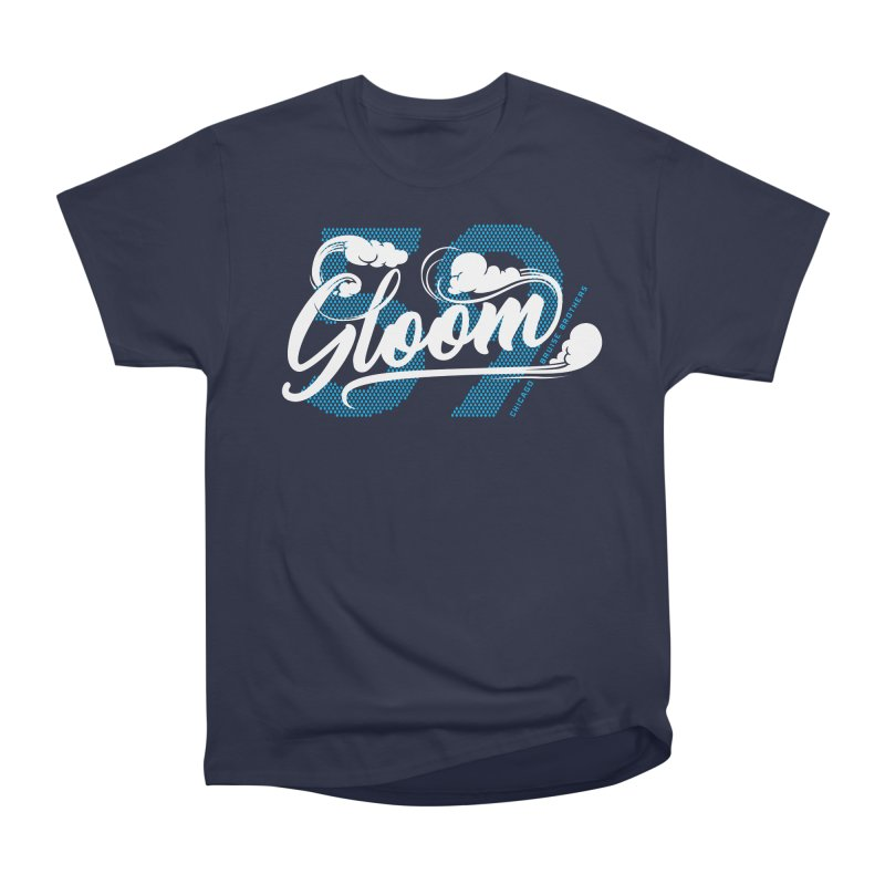 Skater Series: Gloom Men's Heavyweight T-Shirt by Chicago Bruise Brothers Roller Derby