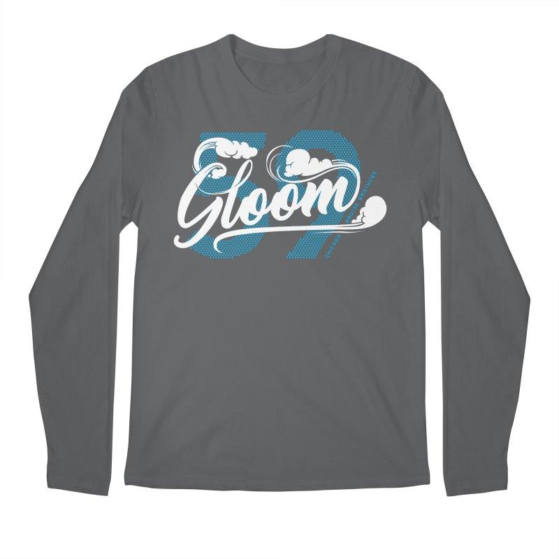 Skater Series: Gloom Men's Regular Longsleeve T-Shirt by Chicago Bruise Brothers Roller Derby