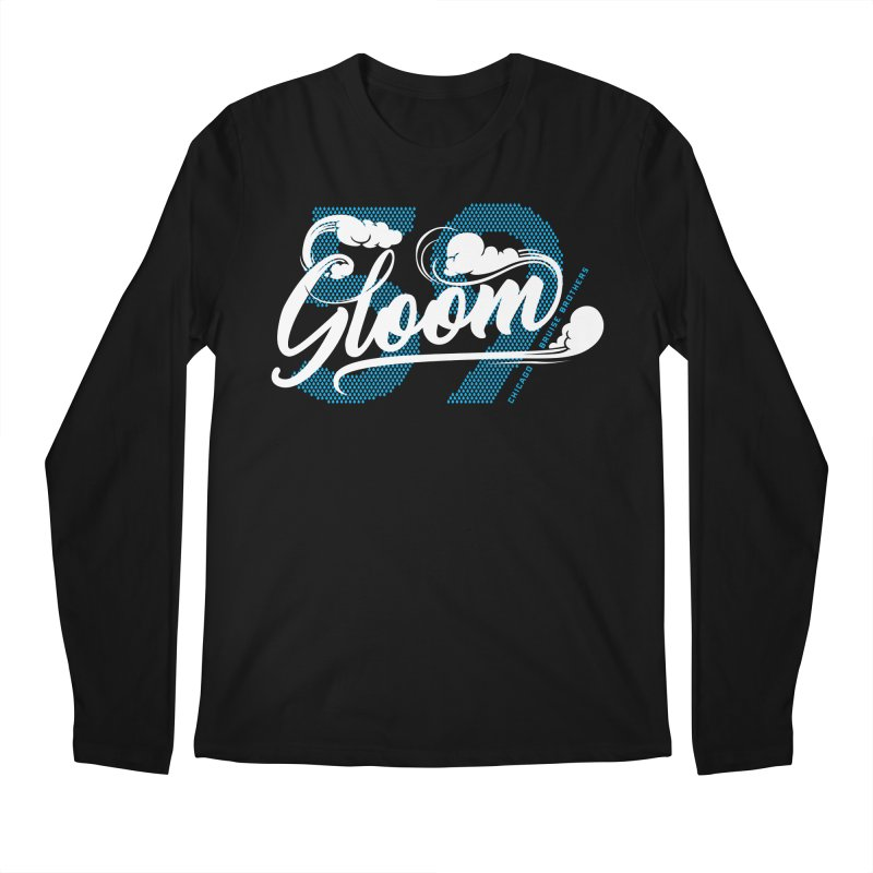 Skater Series: Gloom Men's Regular Longsleeve T-Shirt by Chicago Bruise Brothers Roller Derby