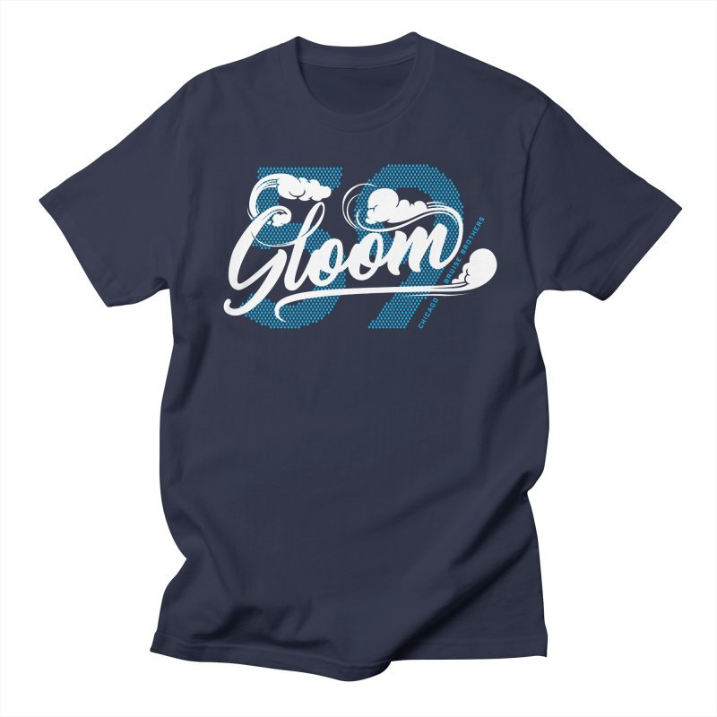 Skater Series: Gloom Men's Regular T-Shirt by Chicago Bruise Brothers Roller Derby