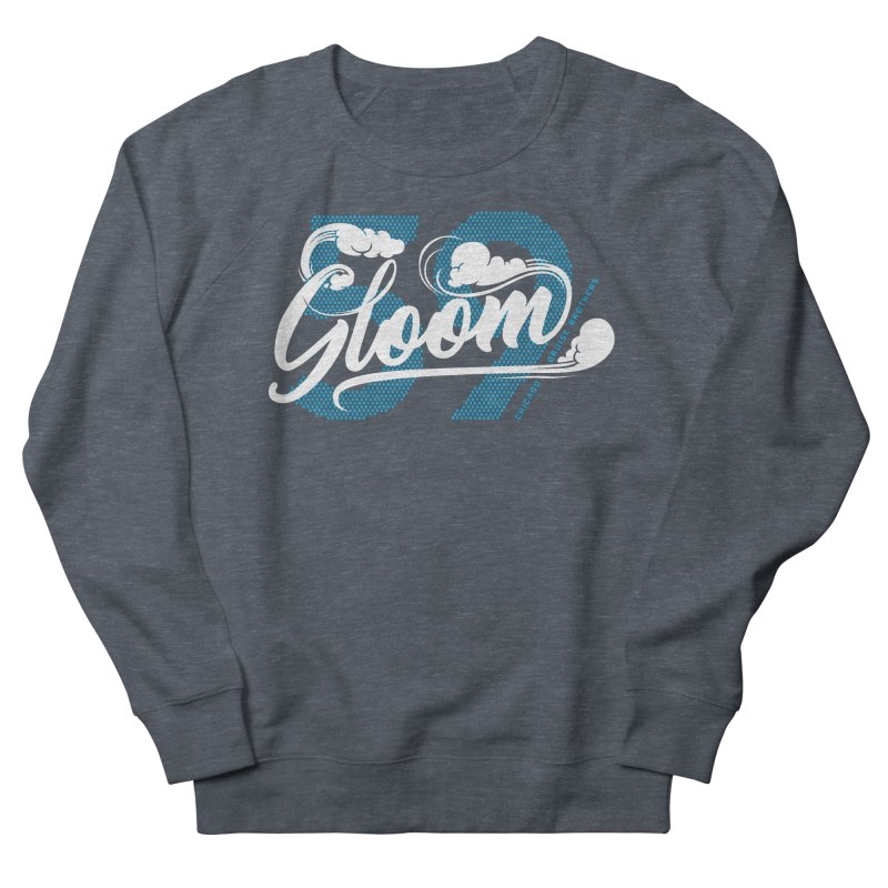 Skater Series: Gloom Men's French Terry Sweatshirt by Chicago Bruise Brothers Roller Derby