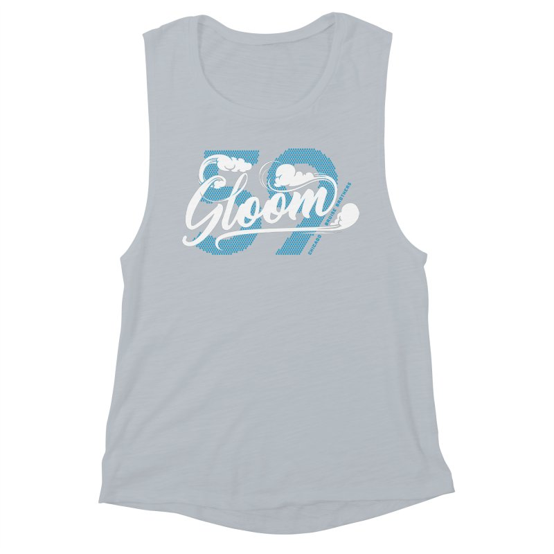 Skater Series: Gloom Women's Muscle Tank by Chicago Bruise Brothers Roller Derby