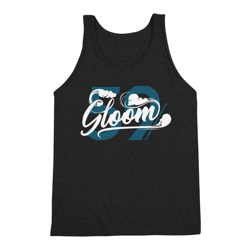Skater Series: Gloom Men's Triblend Tank by Chicago Bruise Brothers Roller Derby