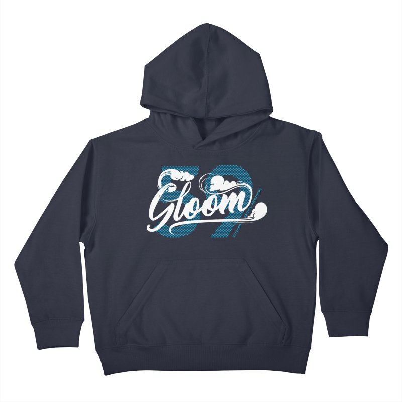 Skater Series: Gloom Kids Pullover Hoody by Chicago Bruise Brothers Roller Derby