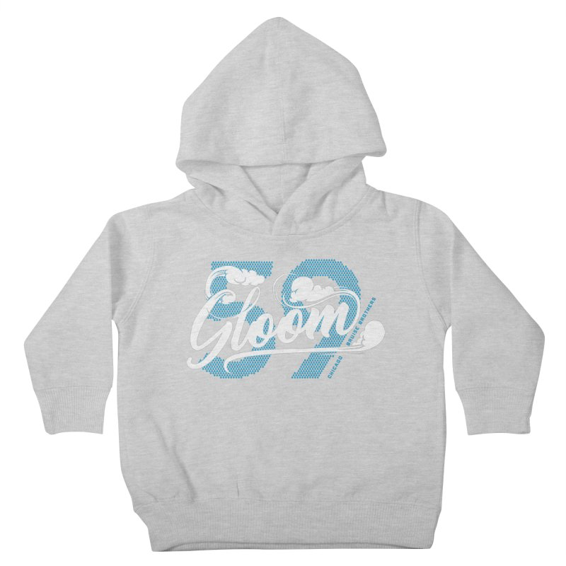 Skater Series: Gloom Kids Toddler Pullover Hoody by Chicago Bruise Brothers Roller Derby