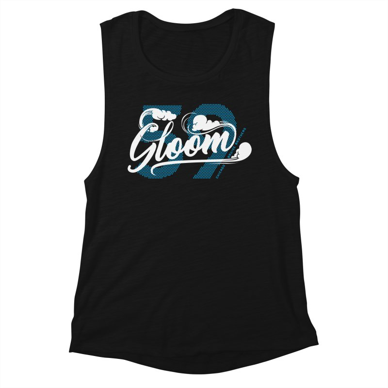 Skater Series: Gloom Women's Tank by Chicago Bruise Brothers Roller Derby