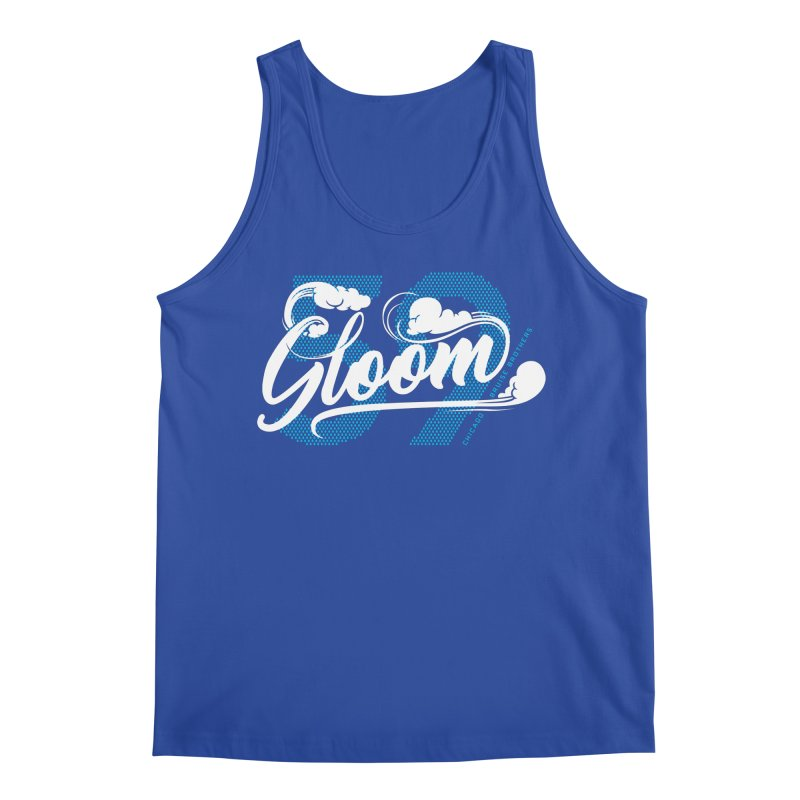 Skater Series: Gloom Men's Regular Tank by Chicago Bruise Brothers Roller Derby