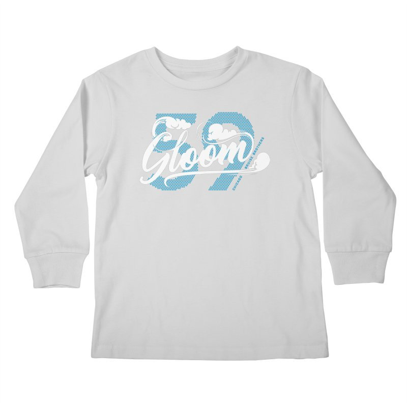 Skater Series: Gloom Kids Longsleeve T-Shirt by Chicago Bruise Brothers Roller Derby