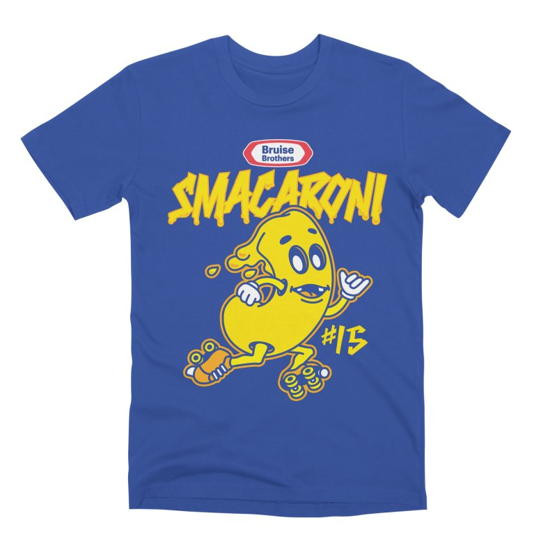 Skater Series: Smacaroni Men's T-Shirt by Chicago Bruise Brothers Roller Derby