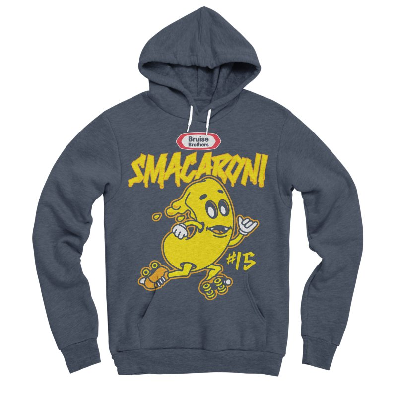 Skater Series: Smacaroni Women's Sponge Fleece Pullover Hoody by Chicago Bruise Brothers Roller Derby