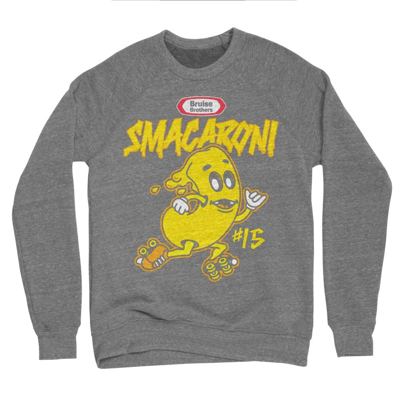 Skater Series: Smacaroni Women's Sponge Fleece Sweatshirt by Chicago Bruise Brothers Roller Derby