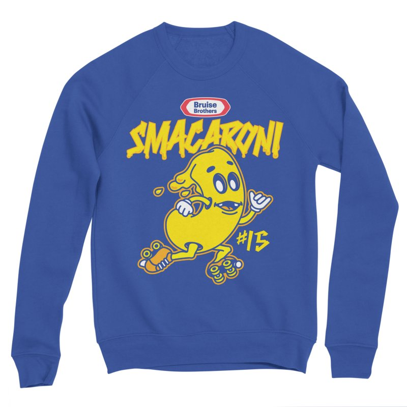 Skater Series: Smacaroni Men's Sweatshirt by Chicago Bruise Brothers Roller Derby