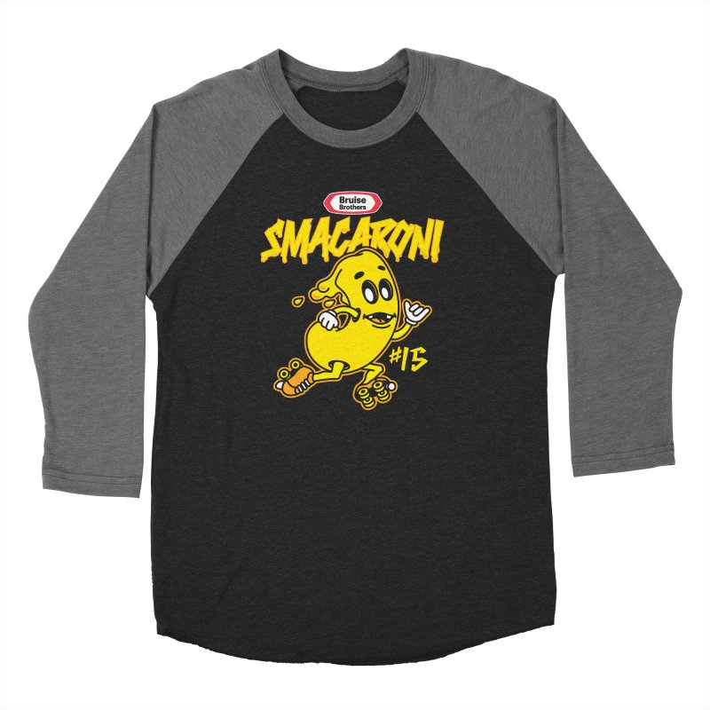 Skater Series: Smacaroni Men's Longsleeve T-Shirt by Chicago Bruise Brothers Roller Derby