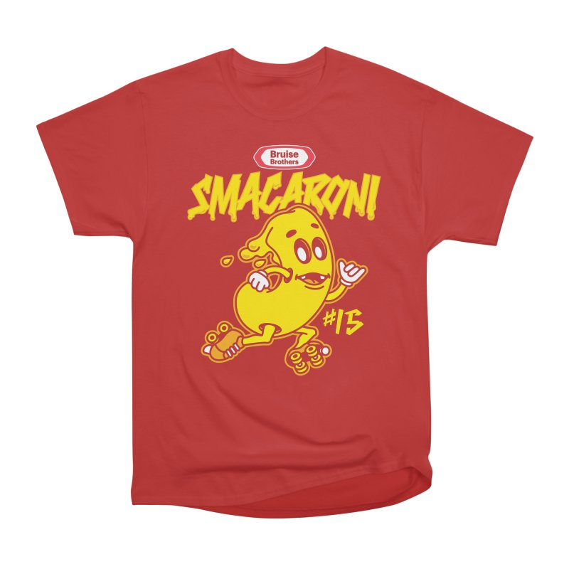 Skater Series: Smacaroni Men's Heavyweight T-Shirt by Chicago Bruise Brothers Roller Derby