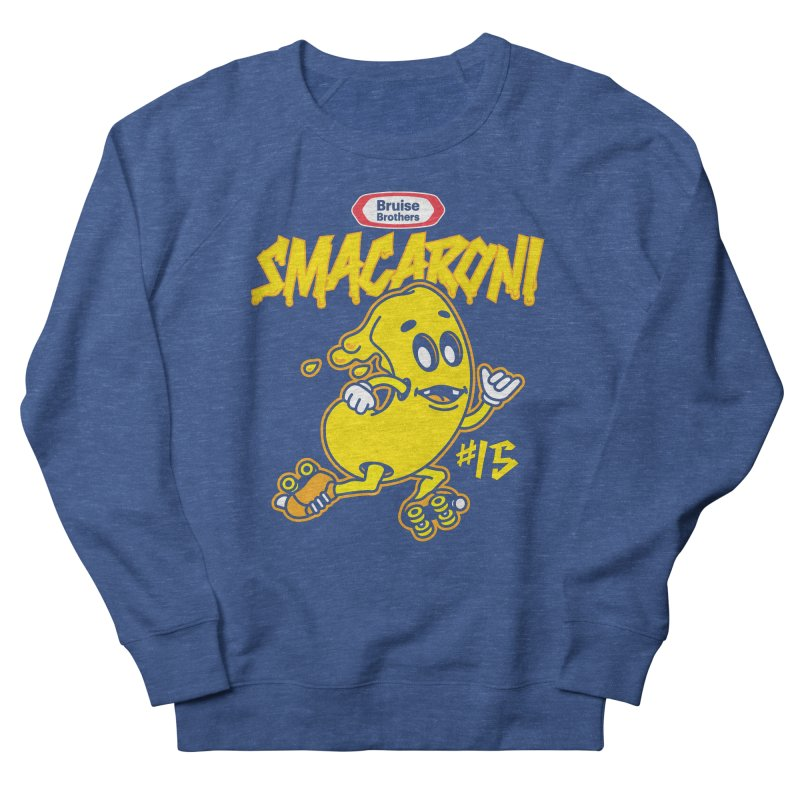 Skater Series: Smacaroni Men's French Terry Sweatshirt by Chicago Bruise Brothers Roller Derby