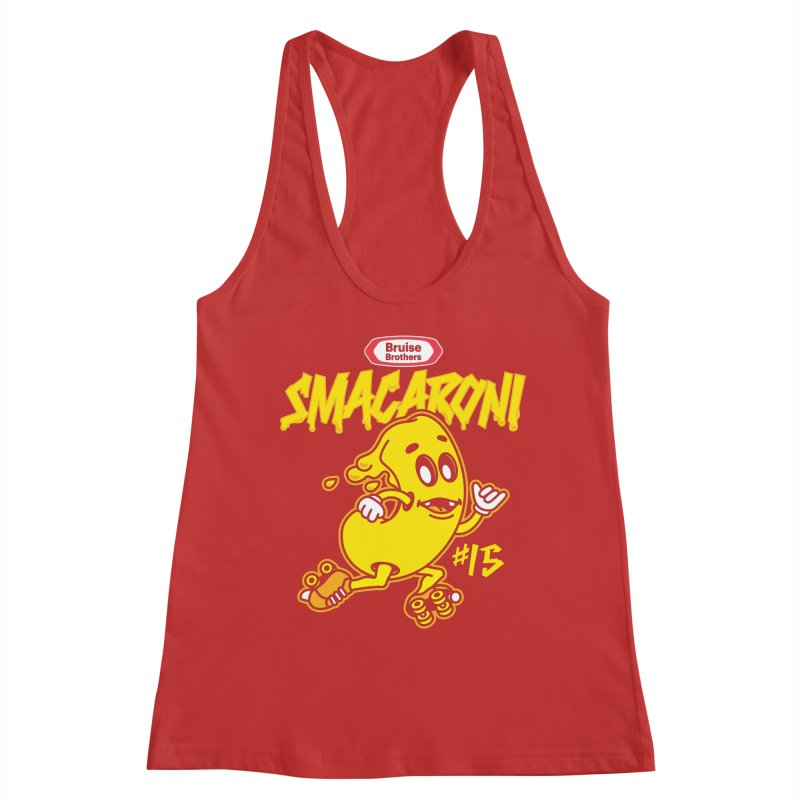 Skater Series: Smacaroni Women's Tank by Chicago Bruise Brothers Roller Derby