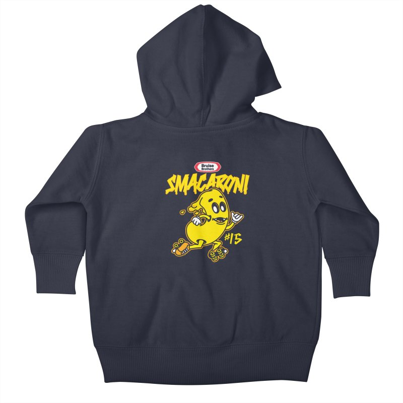 Skater Series: Smacaroni Kids Baby Zip-Up Hoody by Chicago Bruise Brothers Roller Derby