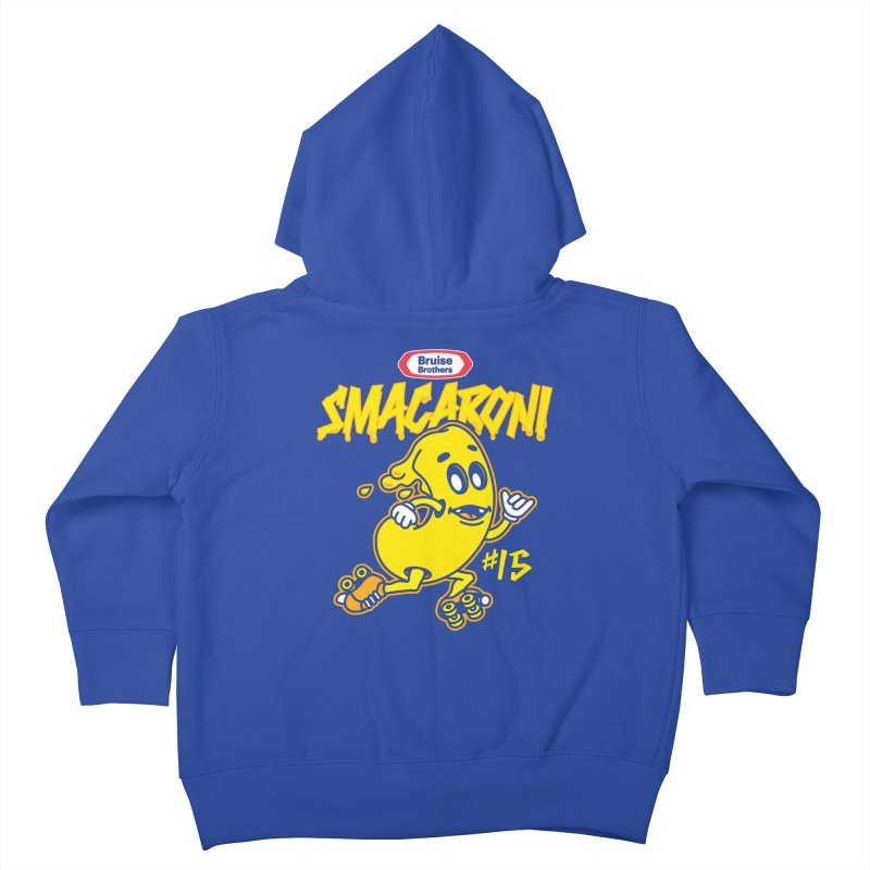 Skater Series: Smacaroni Kids Toddler Zip-Up Hoody by Chicago Bruise Brothers Roller Derby