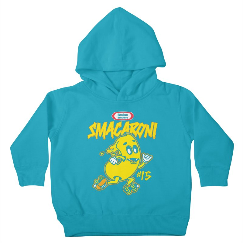 Skater Series: Smacaroni Kids Toddler Pullover Hoody by Chicago Bruise Brothers Roller Derby