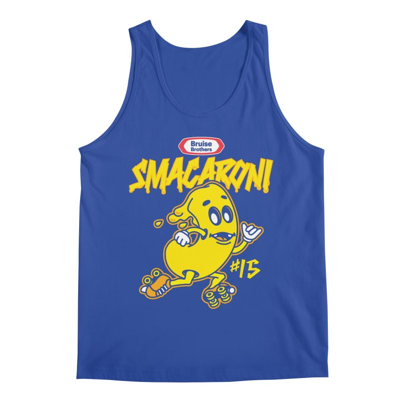 Skater Series: Smacaroni Men's Regular Tank by Chicago Bruise Brothers Roller Derby