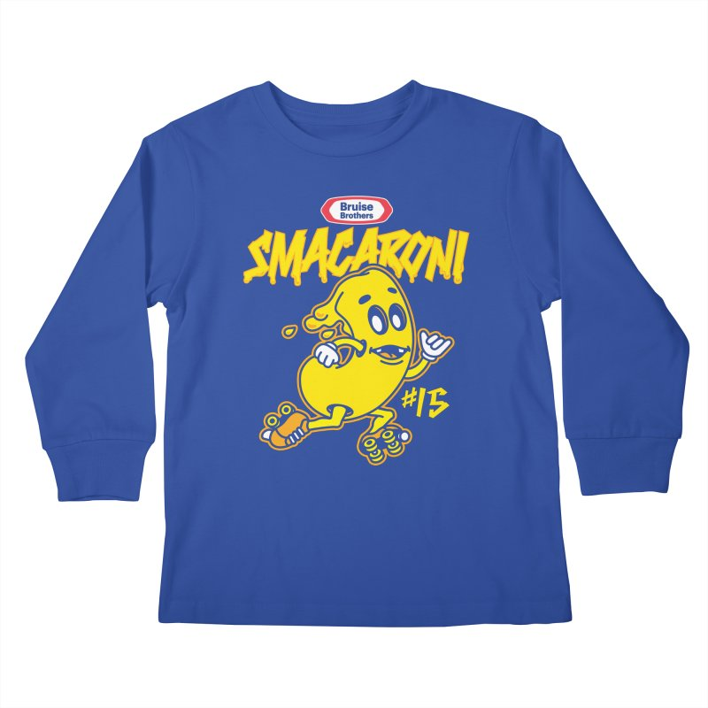 Skater Series: Smacaroni Kids Longsleeve T-Shirt by Chicago Bruise Brothers Roller Derby