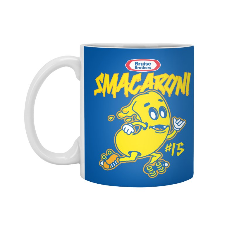Skater Series: Smacaroni Accessories Standard Mug by Chicago Bruise Brothers Roller Derby