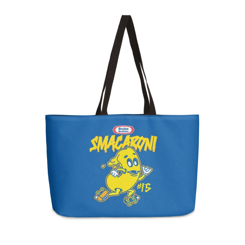 Skater Series: Smacaroni Accessories Weekender Bag Bag by Chicago Bruise Brothers Roller Derby