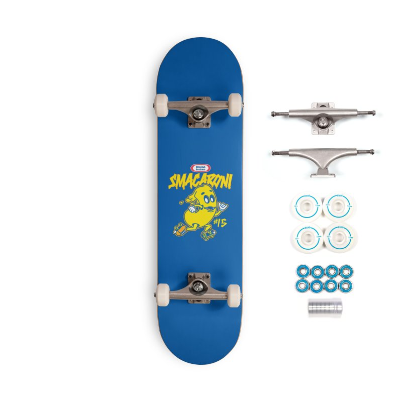Skater Series: Smacaroni Accessories Complete - Basic Skateboard by Chicago Bruise Brothers Roller Derby