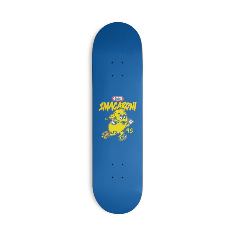 Skater Series: Smacaroni Accessories Skateboard by Chicago Bruise Brothers Roller Derby