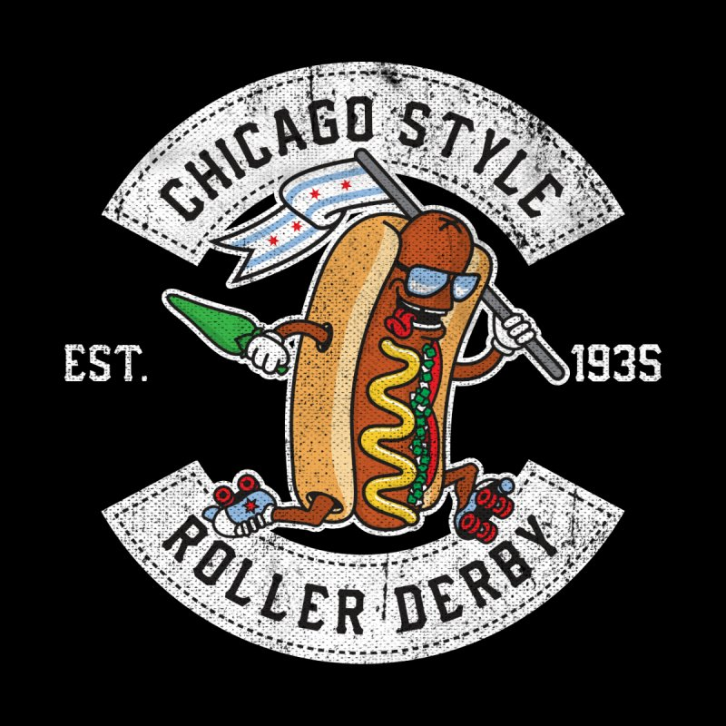 Chicago Style Derby Accessories Zip Pouch by Chicago Bruise Brothers Roller Derby