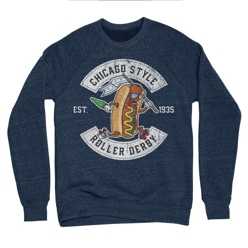 Chicago Style Derby Women's Sponge Fleece Sweatshirt by Chicago Bruise Brothers Roller Derby