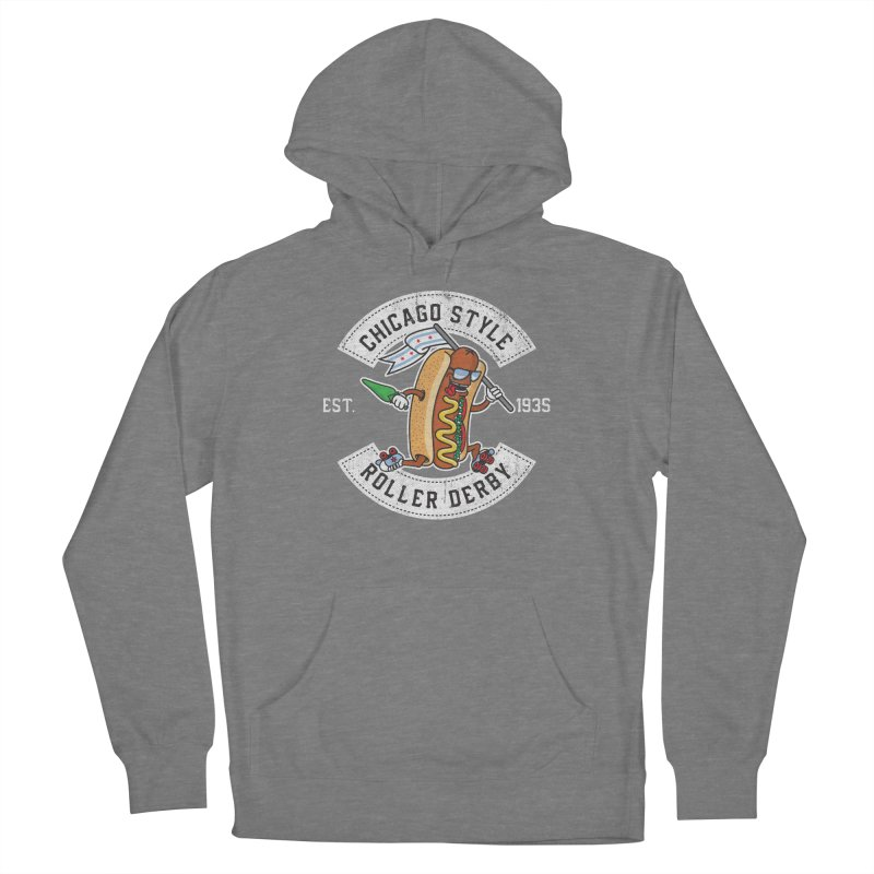 Chicago Style Derby Women's Pullover Hoody by Chicago Bruise Brothers Roller Derby