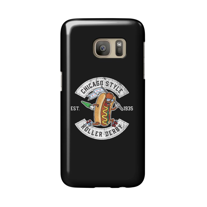 Chicago Style Derby Accessories Phone Case by Chicago Bruise Brothers Roller Derby