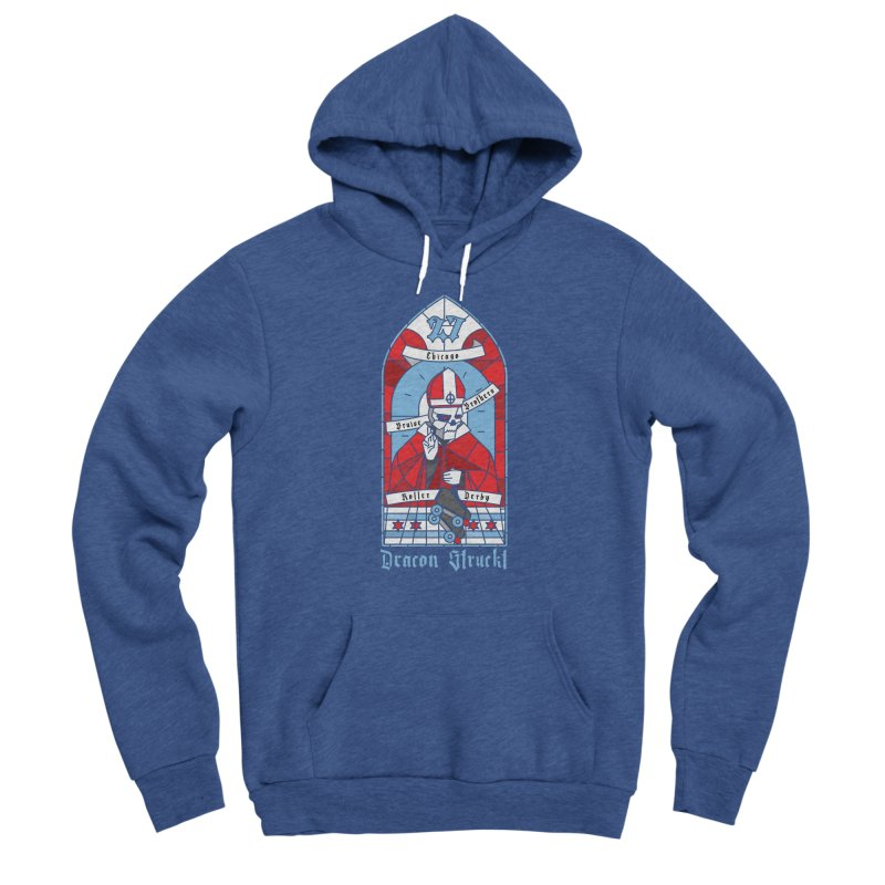 Skater Series: Deacon Struckt Women's Pullover Hoody by Chicago Bruise Brothers Roller Derby