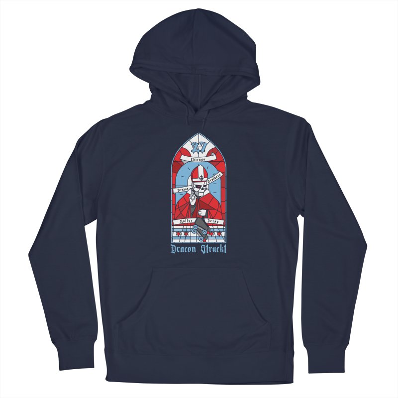Skater Series: Deacon Struckt Men's Pullover Hoody by Chicago Bruise Brothers Roller Derby