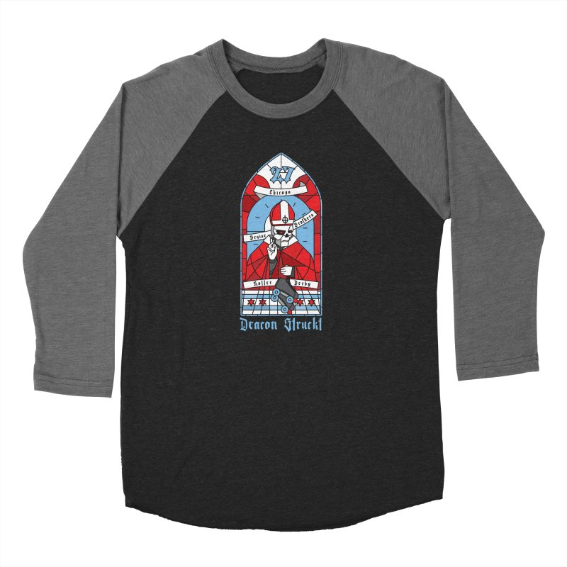 Skater Series: Deacon Struckt Men's Longsleeve T-Shirt by Chicago Bruise Brothers Roller Derby