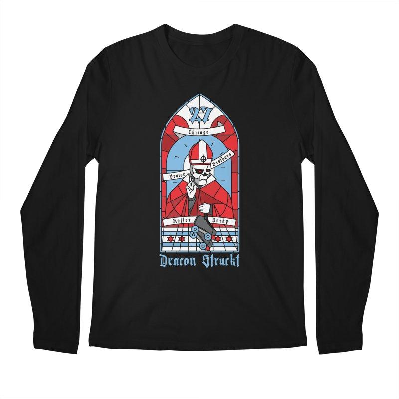 Skater Series: Deacon Struckt Men's Regular Longsleeve T-Shirt by Chicago Bruise Brothers Roller Derby