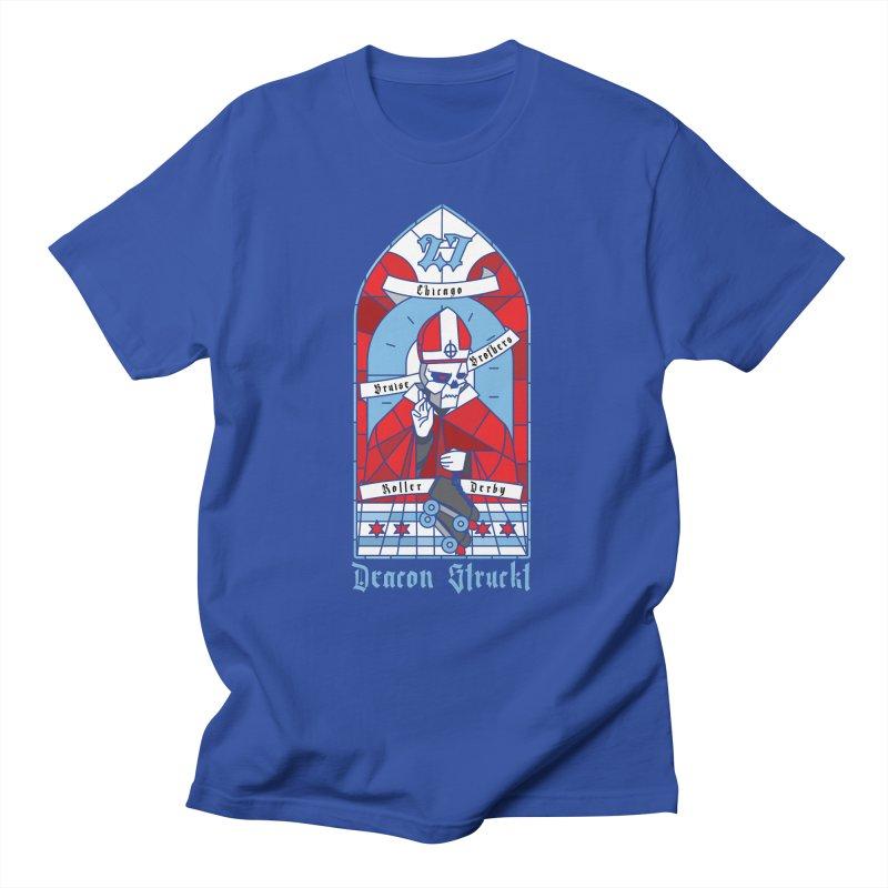 Skater Series: Deacon Struckt Men's T-Shirt by Chicago Bruise Brothers Roller Derby