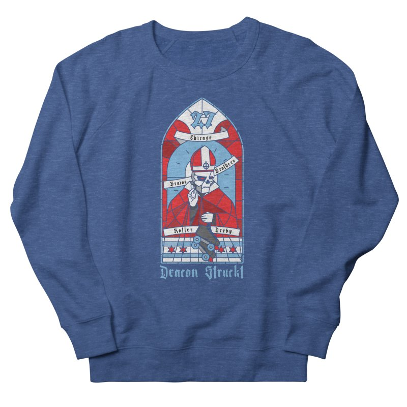 Skater Series: Deacon Struckt Women's Sweatshirt by Chicago Bruise Brothers Roller Derby