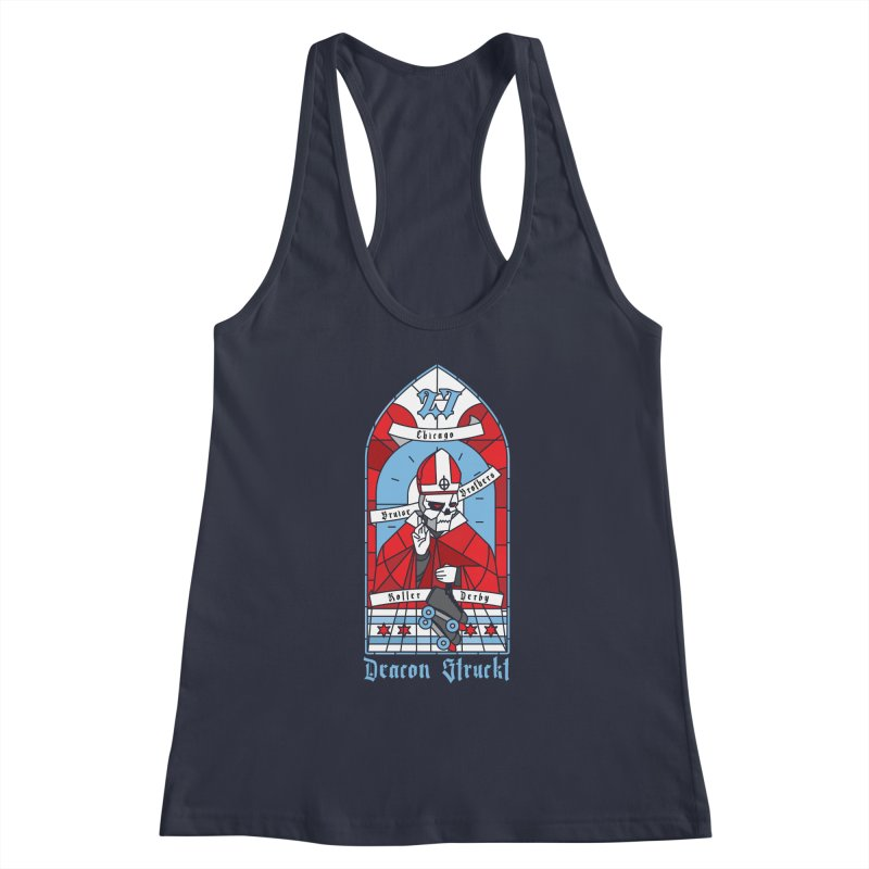 Skater Series: Deacon Struckt Women's Tank by Chicago Bruise Brothers Roller Derby