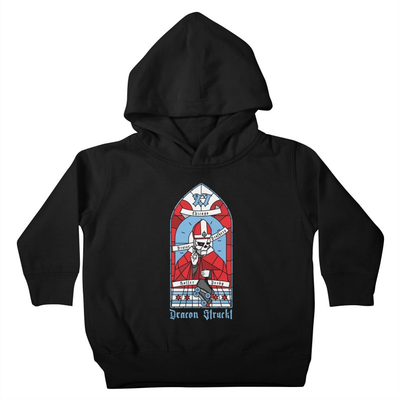 Skater Series: Deacon Struckt Kids Toddler Pullover Hoody by Chicago Bruise Brothers Roller Derby
