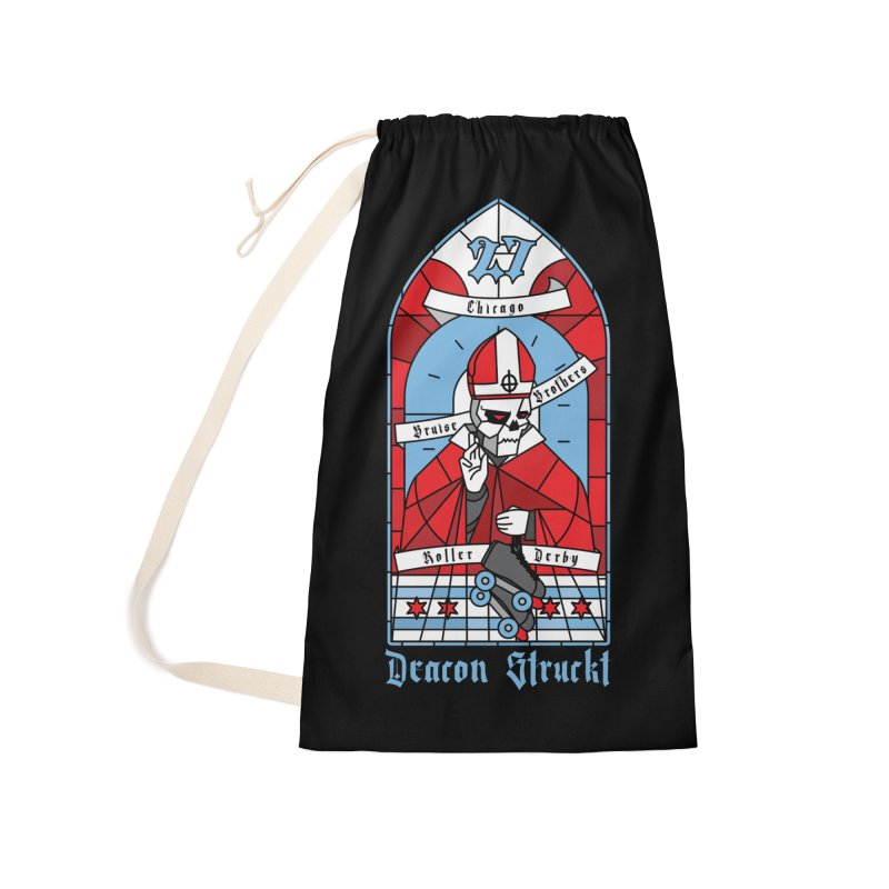 Skater Series: Deacon Struckt Accessories Bag by Chicago Bruise Brothers Roller Derby