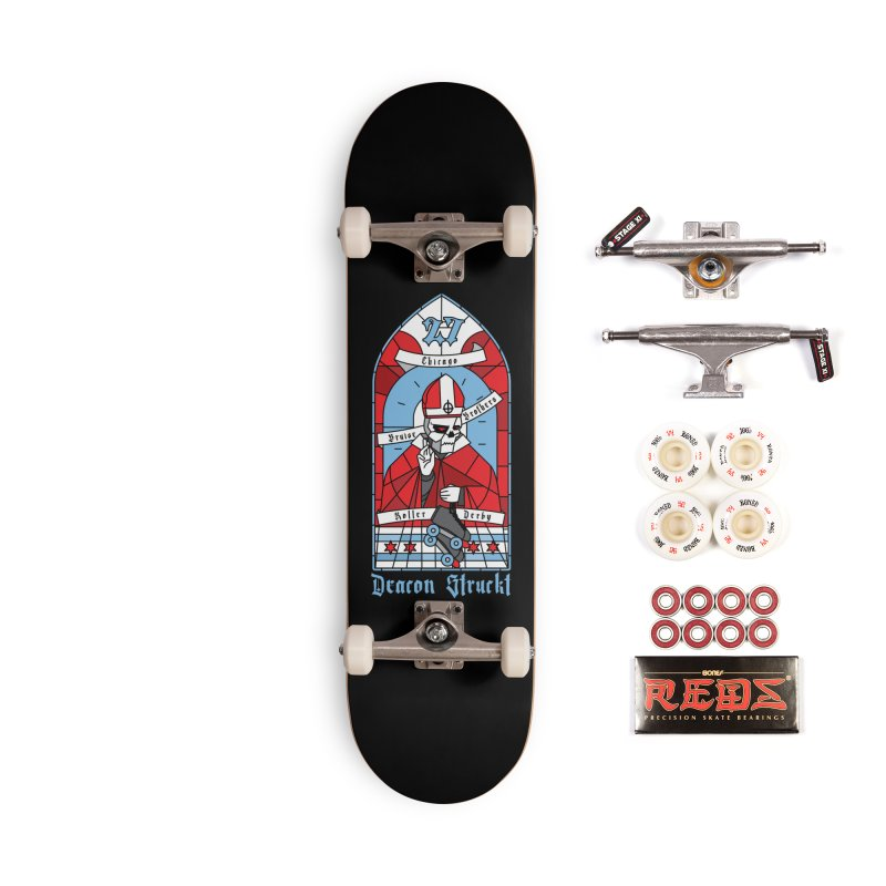 Skater Series: Deacon Struckt Accessories Complete - Pro Skateboard by Chicago Bruise Brothers Roller Derby