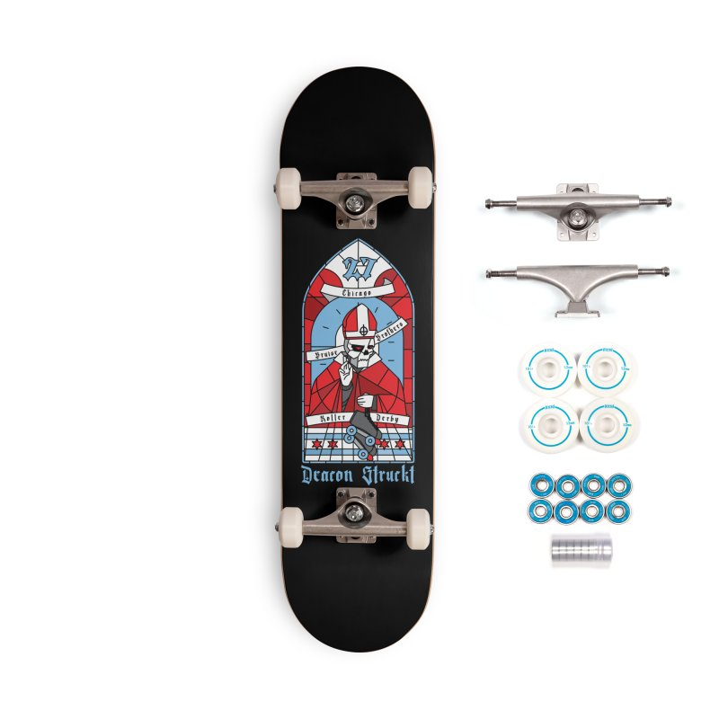 Skater Series: Deacon Struckt Accessories Complete - Basic Skateboard by Chicago Bruise Brothers Roller Derby